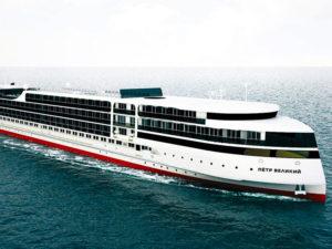 Новый российский морской лайнер «Петр Великий» планирует в следующем году отправиться в первый круиз по Каспию
