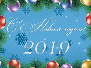 С Новым 2019 годом!!!