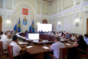 В Астрахани прошло заседание совета по морской деятельности при губернаторе Астраханской области