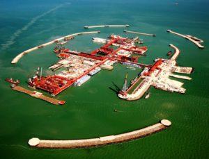 Казахстан решил углубить Каспийское море у месторождения Кашаган