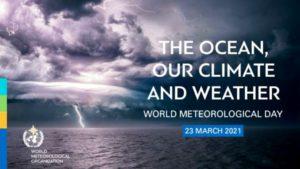 Всемирный метеорологический день 23 марта 2021 г. пройдёт под девизом «Океан, наш климат и погода»