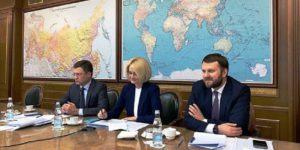 Виктория Абрамченко и Александр Новак провели совещание по актуальным вопросам климатической стратегии и низкоуглеродной экономики