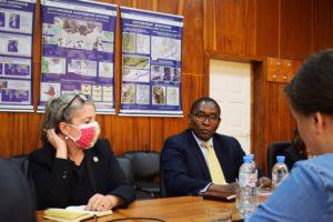 Советник генерального секретаря ООН по вопросам климата Селвин Харт посетил Росгидромет