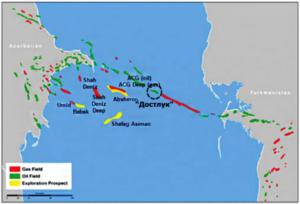 Туркмено-азербайджанский газ могут подать в Европу через пять лет